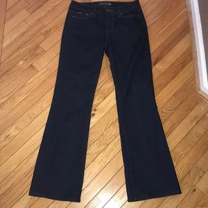 Joe's Jeans Dark Rinse Bootcut Jeans 28 EUC